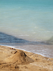 where the ocean meets the land  Iran, Qeshm (mohn_nika) Tags: ocean sea canon iran powershot nika g11 qeshm mohn