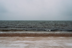 (zaygphoto) Tags: ocean winter snow beach dark nikon gloomy massachusetts cape cod waterscape deadpan d90