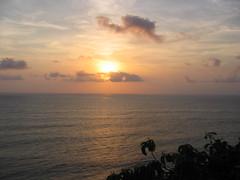 Sunset from Pura Luhur Uluwatu