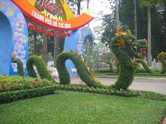 Dragon Hedge Tao Dan Park Ho Chi Minh City