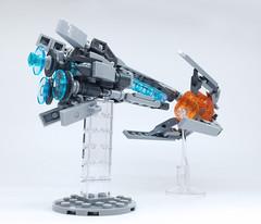 LEGO R-TYPE (ToyForce 120) Tags: lego robots mecha rtype fighter mech robot mechanic legomech legomoc starfighter