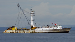 fishing ship (Bernal Saborio G. (berkuspic)) Tags: ocean sea ships vessels fishingvessel tunaboat fishingship tunaship