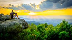 Shenandoah National Park (m_hamad) Tags: park sunset usa sun nature beauty canon landscape farm wildlife explore nationalgeographic shenandoahnationalpark greatnature naturebeauty supershot ultimateshot dazzlingshot 7dmkii blinkagain instagramapp