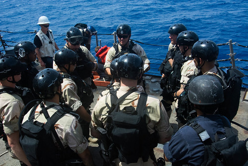 USS Mason (DDG 87) VBSS Exercise With French Navy