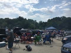 Miller Stadium, Milwaukee, Wisconsin (corsi photo) Tags: milwaukeewisconsin millerstadium parkinglot tailgate crowds cooking