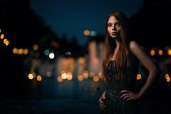 SUMMER NIGHTS (Vicco Gallo) Tags: strobist helena mannheim strob strobe speedlight speedlite linda lena blanka blue hour