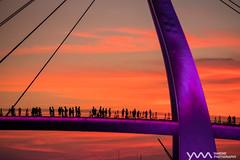 Sunset Time / Taipei, Taiwan (yameme) Tags: taipei taiwan   sunset   evil mirrorless  tamsui  tamsuifisherswharf bridge   tamsuiriver   gx85 mtf m43 microfourthirds panasonic lumix