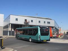 East Yorkshire 137 YX65RLO Hull Interchange on 66 (1) (1280x960) (dearingbuspix) Tags: eastyorkshire eyms alexanderdennis adl 137 demonstrator enviro200mmc enviro200 mmc majormodelchange yx65rlo