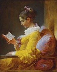 Jean-Honore Fragonard A Young Girl Reading (ArtTrinArt!!) Tags: jeanhonore fragonard 17321806