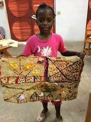 Rebecca Blan (Haiti Partners) Tags: childrensacademy 2016 july haiti entrepreneurship socialbusiness artscrafts papermaking
