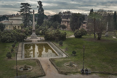 (Icker_Malabares) Tags: villatorlonia january afternoon wintermood rome thediary