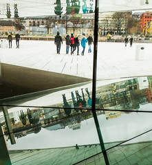 {Reflecting in the Oslo Opera House}FCC136