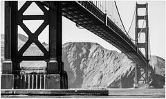 Golden Gate Bridge, San Francisco USA (CvK Photography) Tags: bw bridge california canon city cityscape cvk goldengatebridge holiday monochrome sanfrancisco spring usa verenigdestaten us