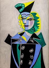 Portrait de Nusch Eluard, Picasso 1937 (Matilda Diamant) Tags: paris picasso museum rusalka france french culture capital portrait nusch eluard 1937