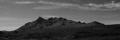 (mattwells1986) Tags: scotland landscape munro mountain nikon d7100 cloud outdoor sky mountainside isle skye isleofskye inner hebrides cuillin black scottish pano panoramic mono monochrome white blackandwhite