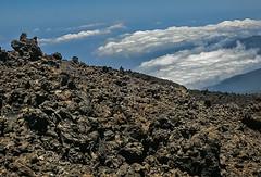 D3255-Mar de nubes sobre el Teide (Eduardo Arias Rbanos) Tags: paisaje landscape teide volcn vulcano tenerife canarias eduardoarias eduardoariasrbanos roca rock nubes clouds minolta dimage
