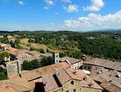 Castellina in Chianti - dalla torre (anto_gal) Tags: toscana siena chianti castellina 2015 panorama rocca