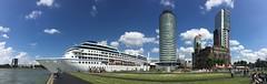 Rotterdam Cruise Terminal (Hans Kool) Tags: cruise nieuwewaterweg maritim maritiem terminal scheepvaart rotjeknor maas ship rotterdam schip hotelnewyork ships panorama