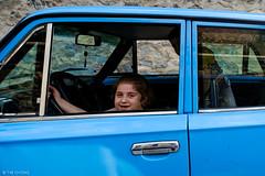 Girl and Lada (oeyvind) Tags: kiş azerbaijan az azərbaycan азербайджан caucasia caucasus أذربيجان aze transcaucasia fujifilmxpro2 xf1024mmf4