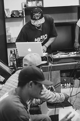 Killerboy, Profeta e Dj Tiu X (Jonathan Fernandes.) Tags: rap nossa conferncia diadema organizao qi submundo90 profeta projeto pandora