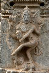 Lord Shiva doing Tandav Dance (VinayakH) Tags: talakad karnataka india temple hindu chola gangadynasty hoysala carvings vaidyeshvara kirtinarayana