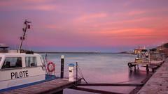 Soir (Amanclos) Tags: soir sunset sun sunrise sunsettime sunriseandsunset sunrisesunset color colors pink rose longexposure portlanouvelle canon canoneos5dmarkiii canonef2410514lisusm