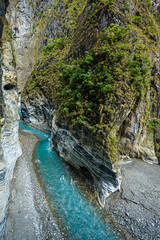 Taiwan-121116-613 (Kelly Cheng) Tags: asia northeastasia taiwan tarokogorge tarokonationalpark color colorful colour colourful gorge green landscape nature nopeople nobody outdoor river rock tourism travel traveldestinations vertical water