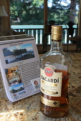 Day 254: Welcome Home! (quinn.anya) Tags: bacardi rum realestate house showing flyer day254 525600minutes
