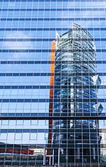 Puzzle (C_MC_FL) Tags: building facade glas glass architecture modern reflection reflektion window canon eos 60d sigma 1020mm vienna austria gebude fassade architektur spiegelung fenster wien sterreich fotografie photography blue blau lines linien