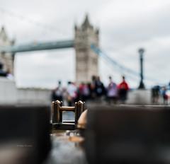 A Bridge Too Far [Explored ] (Peter Murrell) Tags: towerbridge london architecture bokeh depthoffield dof blur