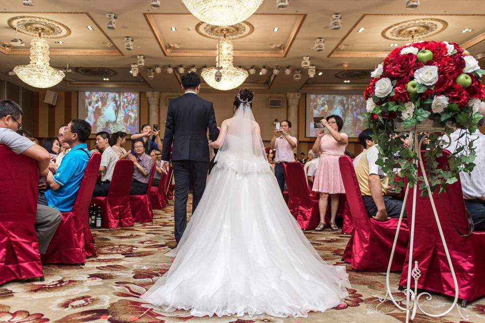 台南婚攝 情定婚宴城堡永康館 婚禮紀錄 C & V 129