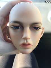 SOLD: RaMcube Gaz Head (Beige Brown) (Calfuraay) Tags: doll dolls bjd bjds balljointeddoll balljointeddolls sd sd17 ramcube gaz head beige brown skin fs for sale selling