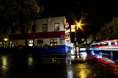 Railway Hotel Yarraville (pmlarge) Tags: western bulldogs footscray yarraville melbswest melbourne night longexposure lighttrails canon7d canon