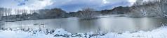 Salburua nieve Pano. N80 (Yon Ibarrra) Tags: nieve snow hielo ice agua water panoramic panoramica colores colors popular bella vitoriagasteiz euskadi paisvasco basquecountry espaa europa