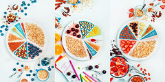 What's for breakfast? (Dina Belenko) Tags: piechart breakfast oatmeal berry ingredient food recipe cooking proportion diet healthyeating white circle plan scheme bright morning sweet lifestyle kitchen tabletop flatlay cup cinnamon syrup vanilla sugar cashew zest salt nut khabarovsk khabarovskterritory russia