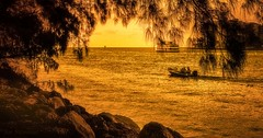 The World Awaits (JDS Fine Art & Fashion Photography) Tags: boats golden freedom inspirational naturalbeauty nature ocean sea relaxation recreation boating gold