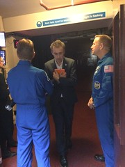 Post-flight tour London (Tim Peake) Tags: timkopra timpeake science museum dallas campbell