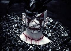 Deeper Into You (Danne Guardian) Tags: clown clowns horror darkness halloween october fantasy scars
