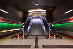 Subway Bochum (O l l i . B .) Tags: bochum nrw nordrheinwestfalen deutschland subway underground untergrund ubahn ruhrgebiet ruhrpott architektur longexposure langzeitbelichtung lzb profanbauten wusch canoneos5dmkii canonef1740mm ollib ollib