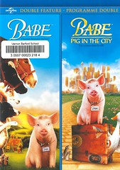 Babe / Babe:  Pig in the City (Vernon Barford School Library) Tags: georgemiller chrisnoonan dougmitchell billmiller jamescromwell magdaszubanski dickkingsmith dick kingsmith james cromwell magda szubanski pig pigs babe piglets animals farms farmanimals swine domesticanimals sheepherding animalstories sheepdog sheepdogs vernon barford library libraries new recent video videos film films junior high middle school covers cover videocase videocases dvd dvds dvdcase dvdcases fiction fictional movie movies comedy drama fantasy fantasyfilms animalfilms inspirational motionpicture motionpictures