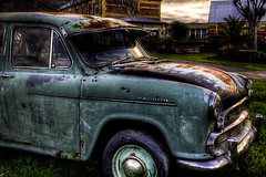 hdr car (LeeJayDee) Tags: cars willowcourt dumpedcars hdrcars oldcars