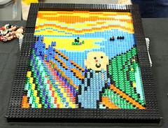 . (SA_Steve) Tags: lego thescream edvardmunch art creative munch colorful colors color colour colours multicolored multicolor