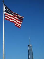 Patriotisms (jphillipobrien2006) Tags: jerseycity 911 statueofliberty groundzero libertystatepark freedomtower alwaysonmymind