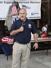 Rep. Matt Hudson thanking veterans at Florida SouthWestern State College