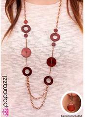 5th Avenue Copper Necklace K1 P2445-5