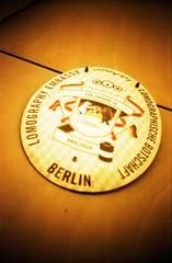 Berlin (somekeepsakes) Tags: autumn red berlin rot fall film analog germany deutschland lomo lca europa europe herbst analogue 2010 lgs redscale lomographygallerystore lomographyredscalexr lgsberlin