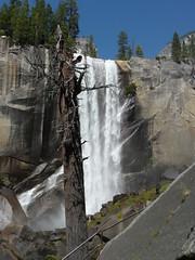 base of Vernal Falls (jb10okie) Tags: california travel summer vacation usa america nps trails falls worldheritagesite yosemite yosemitenationalpark nationalparks vernalfalls 2014 misttrail