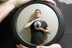 Repeat (chiefeile) Tags: portrait people clock photoshop photography photo photographer spirals infinity twist snap pixel trick effect repeat droste photomanipulators