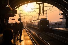 Vaishali Metro (Jamie Manley) Tags: auto street india metro delhi well greenpark sikh cp gurudwara indiagate baoli sahibabad