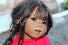 Annette Himstedt Sidika... (dambuster01) Tags: 2005 india asian tanned 73cm sidika annettehimstedt worldchildrenssummit